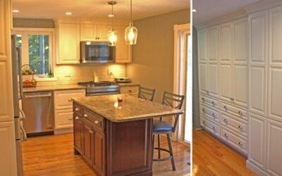 Two Tone Family Kitchen